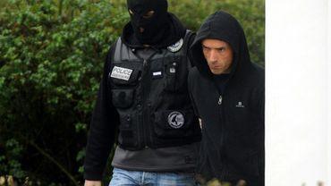 Un chef présumé de l'ETA Mikel Irastorza lors de son arrestation le 5 novembre 2016 à Ascain