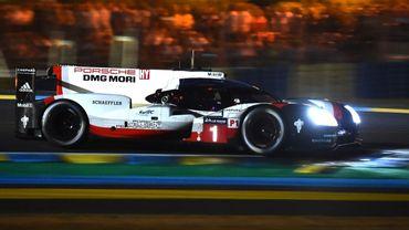 André Lotterer au volant de sa Porsche n° 1
