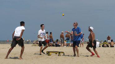 Il n'existait pas vraiment il y a dix ans mais le Spikeball, mélange de volley et de tennis qui se joue avec un filet horizontal et une petite balle, compte aujourd'hui plusieurs millions de pratiquants.