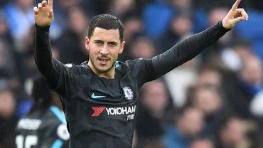 Eden Hazard désigné joueur belge de l'année