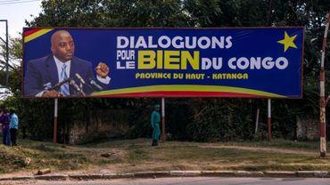 Une affiche à l'effigie du président congolais, Joseph Kabila, le 22 mai 2016 à Lubumbashi