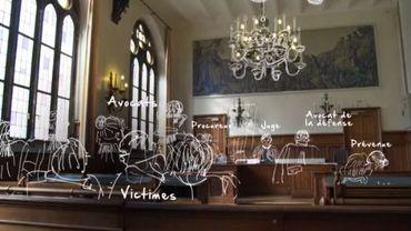Procès de Véronique Van Acker, sixième chambre du tribunal correctionnel de Nivelles.