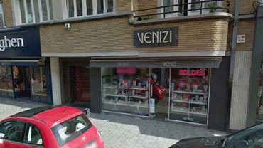 L'une des enseignes que compte Venizi à Bruxelles.