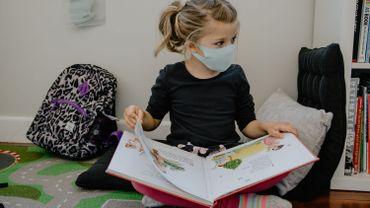 Les enfants et le masque sont une grande inconnue depuis l'arrivée du coronavirus de notre côté du monde