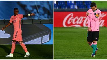 Le Real et le Barça battu