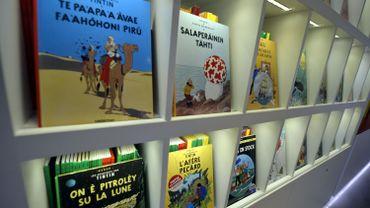 """""""Tintin au pays des Soviets"""" en couleurs en janvier 2017"""