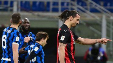 Romelu Lukaku et Zlatan Ibrahimovic