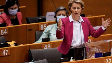 La commission européenne propose un plan de relance de 750 milliards d'euros