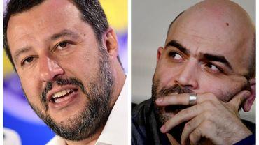 Matteo Salvini menace une fois de plus Roberto Saviano de lui retirer sa protection policière