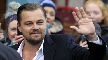 Leonardo DiCaprio à Edimbourg le 17 novembre 2016