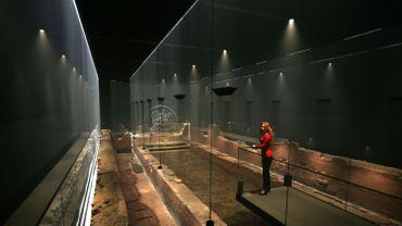 Un temple romain reprend vie au coeur de la City londonienne
