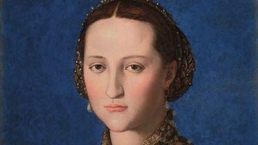 """""""Portrait d'Eléonore de Tolède"""", Agnolo Bronzino,1522, NárodnÍ Galerie"""