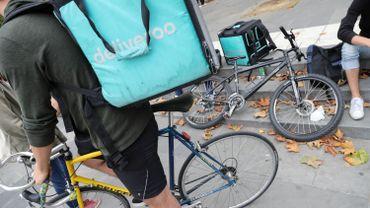 Les coursiers-cyclistes de la plateforme Deliveroo (livraison de repas à domicile), manifesteront en fin d'après-midi, à Bruxelles.