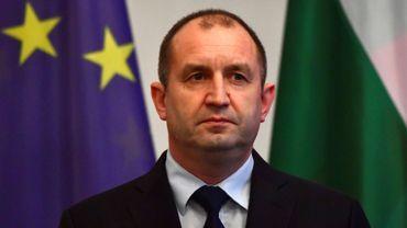 Le président bulgare Rumen Radev, le 6 février 2017 à Berlin