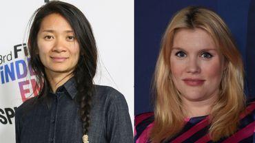 """Chloé Zhao pour """"Nomadland"""" et Emerald Fennell pour """"Promising Young Woman"""" deviennent respectivement les neuvième et dixième femmes à concourir pour le prix du meilleur long-métrage."""