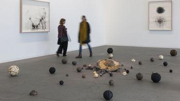 Les Abeilles de l'Invisible - vue de l'exposition