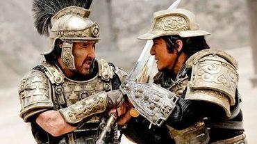 """Cusack (à gauche) et Chan uniront leurs forces dans """"Dragon Blade"""""""