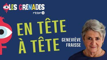 """Geneviève Fraisse: """"A chaque événement majeur, les femmes disparaissent de l'espace médiatique"""""""