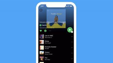 Spotify s'offre un nouveau look sur iOS