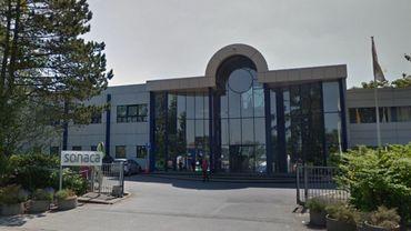 Le nouveau bâtiment 'Greensonaca' jouxtera bientôt le siège de l'entreprise à Gosselies