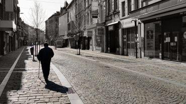 Le ville de Verviers en photos au moment du confinement