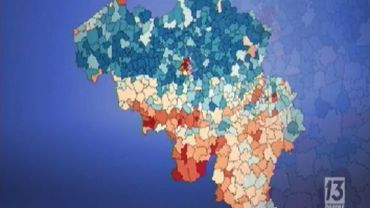 Cartographie de la pauvreté en Belgique