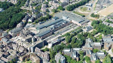C'est une large zone autour de l'Esplanade (au centre) et de la gare de LLN qui sera au coeur du travail des ateliers citoyens.