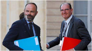 France : suivez en direct la passation de pouvoir entre Edouard Philippe et Jean Castex, l'ancien et le nouveau Premier ministre de Macron