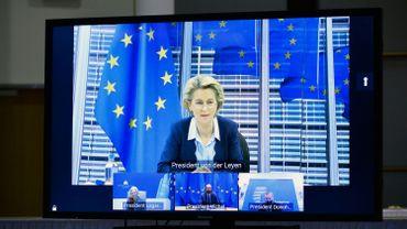 Ursula Von Der Leyen: la grande crise du changement climatique continue
