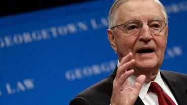 L'ancien vice-président Walter Mondane en 2013 à Washington
