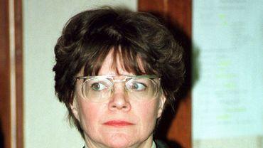La juge d'instruction Colette Calewaert en charge du dossier Calice.
