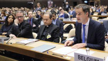 L'Union européenne est co-organisatrice de cette conférence sur la RDC qui se tienait à Genève.