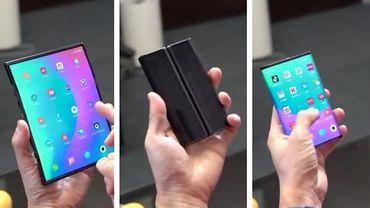 Le smartphone pliable de Xiaomi pourra être plié deux fois