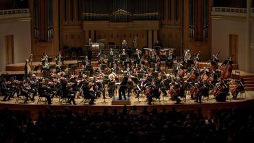 L'orchestre National de Belgique en concert dans le métro
