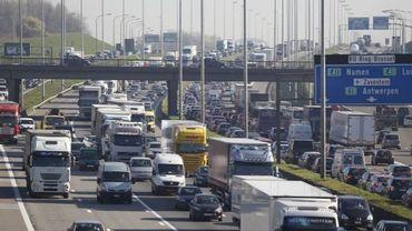 Ça chauffe sur le ring est de Bruxelles: accidents, chantiers, chaleur