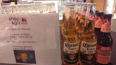 """""""2 Corona achetées, une Mort Subite offerte"""": l'action qui n'a pas fait rire Delhaize"""