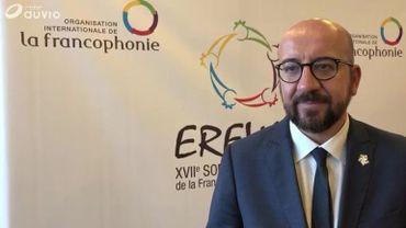 La Francophonie doit être un acteur engagé du multilatéralisme, estime Charles Michel