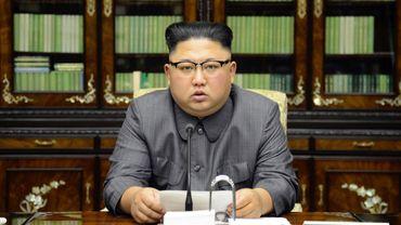 """Kim, que Trump a qualifié d'""""homme-fusée"""" en raison de ses ambitions nucléaires, s'est également interrogé sur la santé mentale du locataire de la Maison Blanche."""