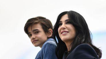 La réalisatrice libanaise Nadine Labaki avec l'acteur syrien Zain al-Rafeea : elle pourrait remporter la Palme d'or avec le film Capharnaüm