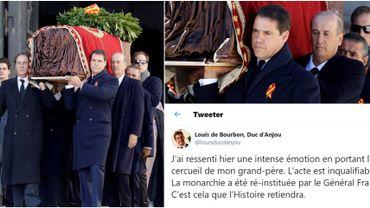 """""""Votre grand-père a fait tuer le mien"""": Louis de Bourbon, petit-fils de Franco, crée l'émoi sur Twitter"""