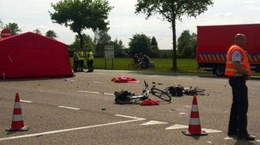 L'accident a eu lieu lundi après-midi sur la Turnhoutsebaan