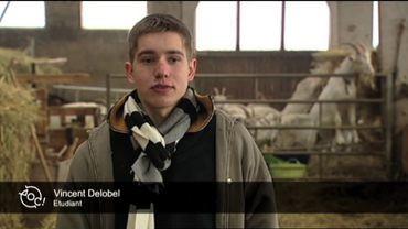 Le portrait de la semaine: Vincent reprend la chèvrerie bio de ses parents