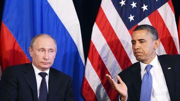 Grimaces: les relations entre Vladimir Poutine et Barack Obama sont au plus bas