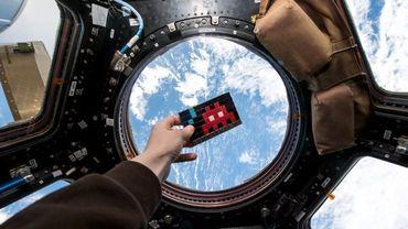 Space 2 sera la toute première œuvre d'art à prendre place à bord de la Station Spatiale Internationale