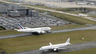 L'aéroport Roissy-Charles de Gaulle.