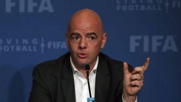 """La Fifa """"étudie"""" toujours la faisabilité d'un Mondial 2022 à 48 équipes"""