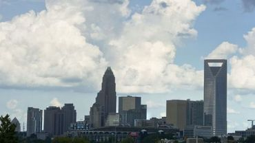 La ville de Charlotte en Caroline du Nord