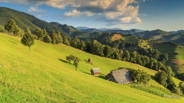 La Transylvanie en Roumanie.