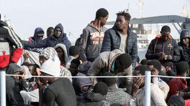 600 migrants secourus en 24h. (Il s'agit ici d'une photo d'illustration datant du 29 avril 2021)