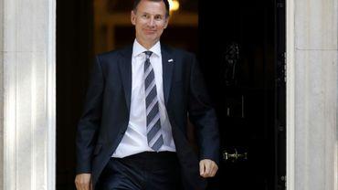 Jeremy Hunt a été nommé ministre des Affaires étrangères du gouvernement britannique le 09 juillet 2018, après la démission de Boris Johnson